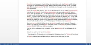 Học từ vựng tiếng Anh qua chuyện chêm