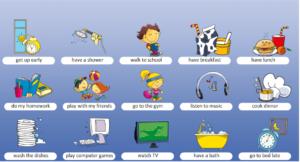 học từ vựng tiếng Anh qua hình ảnh