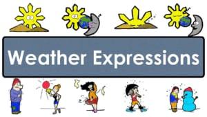 từ vựng tiếng anh theo chủ đề thời tiết