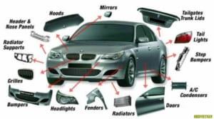 Từ vựng tiếng Anh các bộ phận xe ô tô