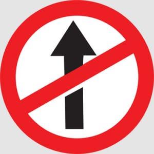 Không có lối vào cho giao thông xe cộ