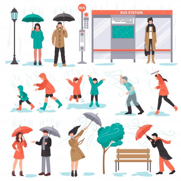 mẫu câu giao tiếp tiếng Anh về thời tiết
