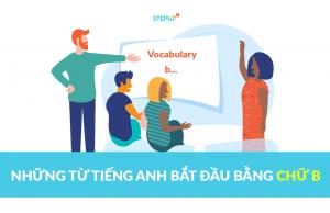 Những từ tiếng Anh bắt đầu bằng chữ b