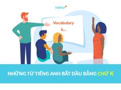 Những từ tiếng Anh bắt đầu bằng chữ k