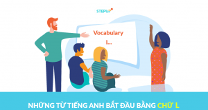 Những từ tiếng Anh bắt đầu bằng chữ l