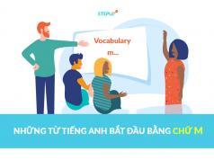 Những từ tiếng Anh bắt đầu bằng chữ m