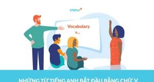 những từ tiếng Anh bắt đầu bằng chữ v