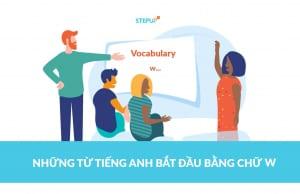 những từ tiếng Anh bắt đầu bằng chữ w