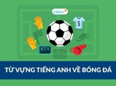 từ vựng về bóng đá