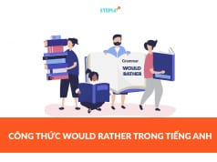 công thức would rather