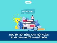 học từ mới tiếng Anh mỗi ngày