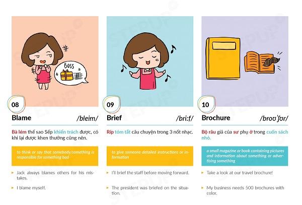 học từ mới tiếng Anh mỗi ngày 5 từ