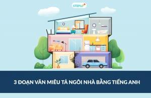 miêu tả ngôi nhà bằng tiếng Anh