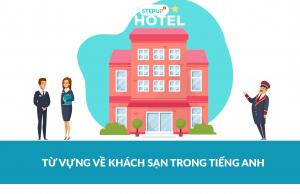 từ vựng về khách sạn