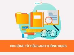 100 động từ tiếng Anh thông dụng