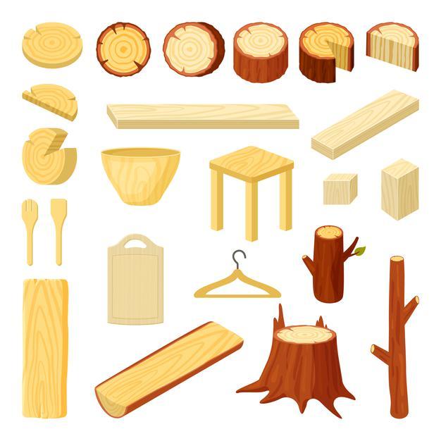 từ vựng tiếng Anh về gỗ