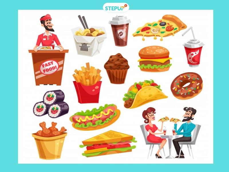 từ vựng về thức ăn nhanh