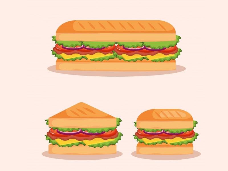 miêu tả món bánh mì bằng tiếng Anh