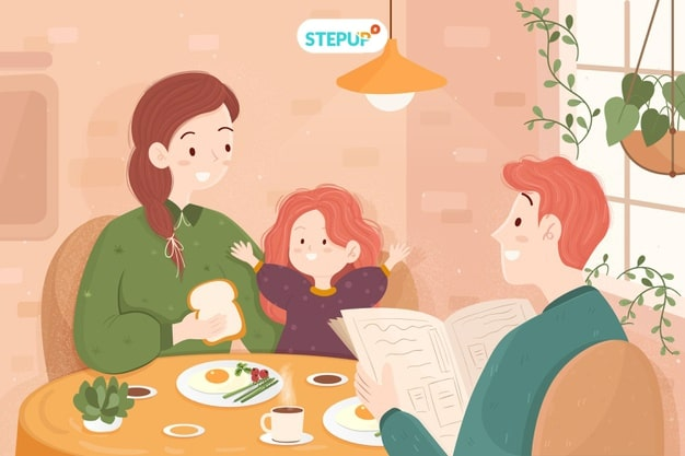 đoạn văn viết về gia đình bằng tiếng Anh