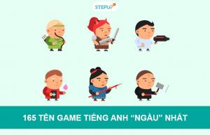 tên game tiếng Anh